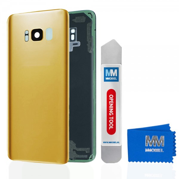 MMOBIEL Back Cover incl. Lens voor Samsung Galaxy S8 G950 (GOUD)
