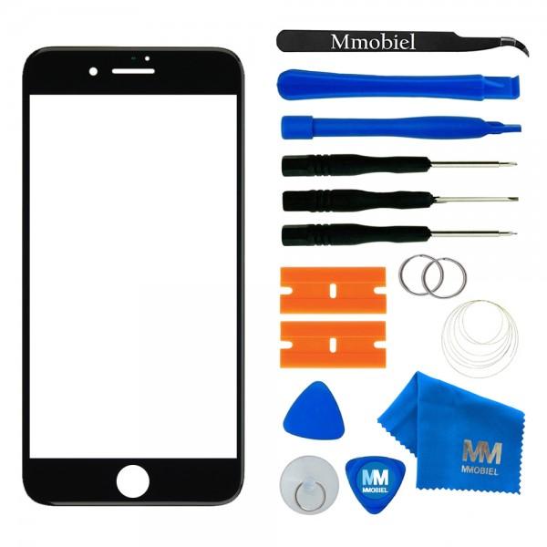 MMOBIEL Front Glas Display Scherm voor iPhone SE 2020 / (Zwart/Wit/Rood) / 8 (Zwart)