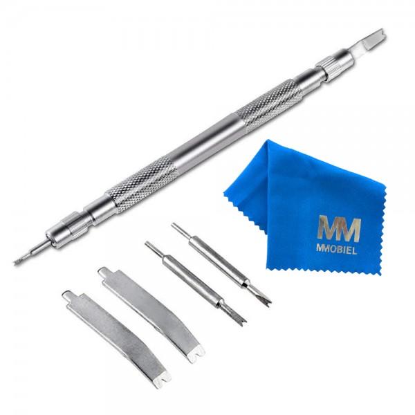 MMOBIEL Professionele Horloge Pin Verwijdering Set - inclusief: Spring Bar, Push Pins, Horloge Pinnen - 7 in 1 Verwijdering Set