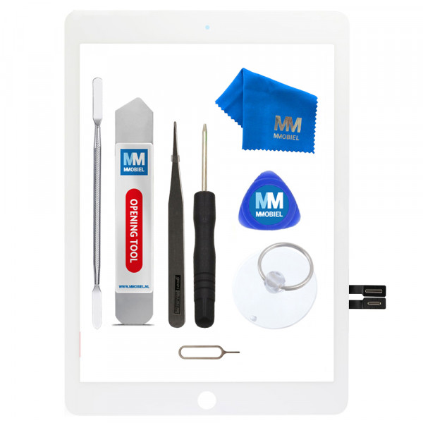 MMOBIEL Digitizer Scherm Display Glas Touchscreen voor iPad 6 2018 A1893 / A1954 (WIT) - inclusief Tools