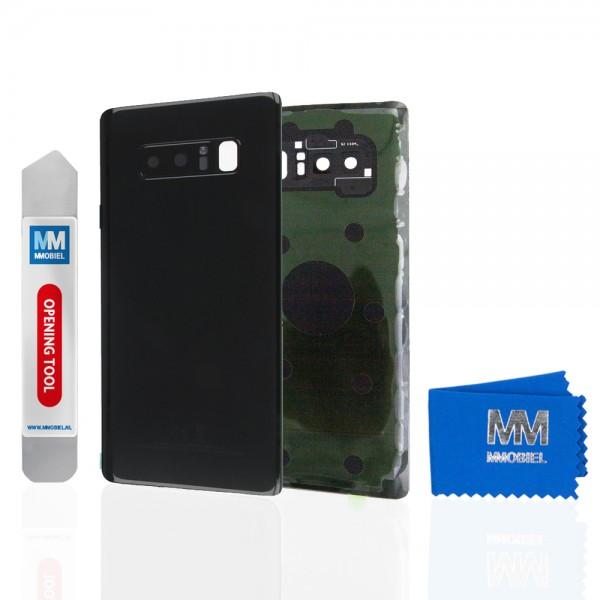 MMOBIEL Back Cover incl. Lens voor Samsung Galaxy Note 8 N950 (ZWART)