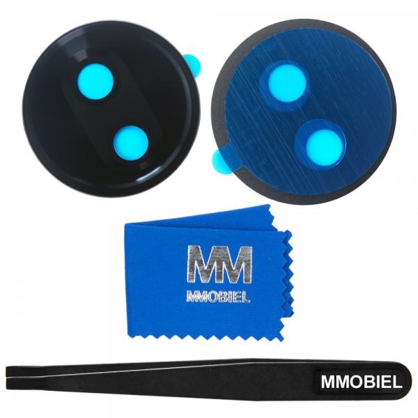 MMOBIEL Glas Lens Back Camera voor Motorola G7 Play (ZWART) - inclusief Pincet en Doekje