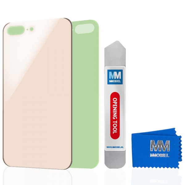 MMOBIEL Back Cover voor iPhone 8 Plus (GOUD)