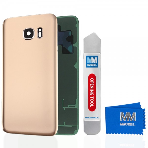 MMOBIEL Back Cover incl. Lens voor Samsung Galaxy S7 Edge G935 (GOUD)