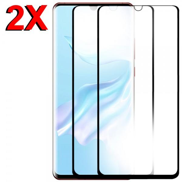 MMOBIEL 2 stuks Glazen Screenprotector voor Huawei P30 Pro - 6.47 inch 2019 - Tempered Gehard Glas - Inclusief Cleaning Set