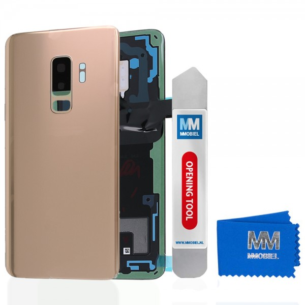 Akkudeckel mit Linse für Samsung Galaxy S9 Plus G965 (GOLD) Backcover