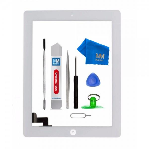 Digitizer Display Glas für iPad 2 (WEISS) 9.7 inch Touchscreen + Werkzeug