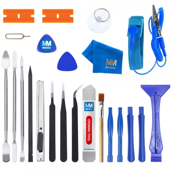 23 in 1 Reparatur Öffnungs Werkzeug Set Inkl. Antistatischem Armband für Handy