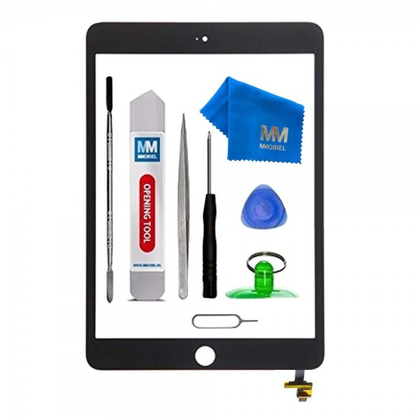 Digitizer for iPad Mini 3 (Black) Touchscreen Front Display incl. Toolkit