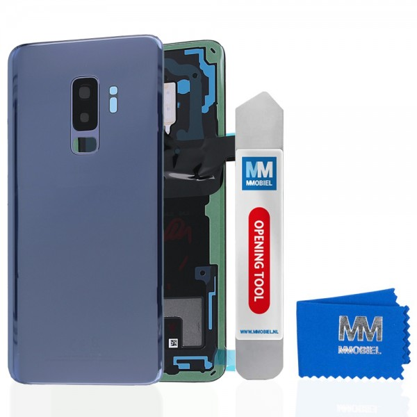 MMOBIEL Back Cover incl. Lens voor Samsung Galaxy S9 Plus G965 (BLAUW)