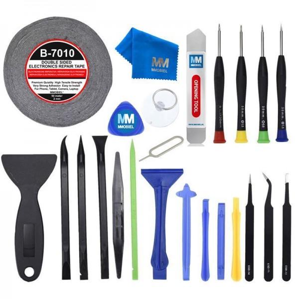 24 in 1 Profi Reparatur Öffnungs Werkzeug Kit für Smartphone Handy Tablet
