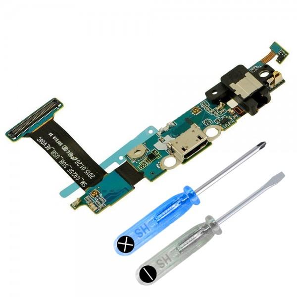Dock Connector für Galaxy S6 Edge (G925F) Ladebuchse Ladeport + Werkzeug