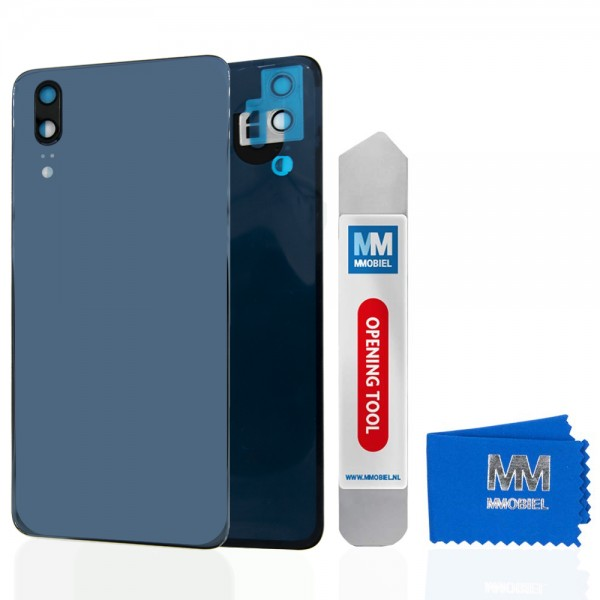 MMOBIEL Back Cover incl. Lens voor Huawei P20 2018 (BLAUW)