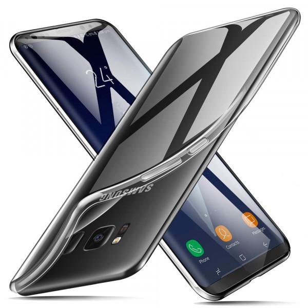 MMOBIEL Siliconen TPU Beschermhoes Voor Samsung Galaxy S8 - 5.8 inch 2017 Transparant - Ultradun Back Cover Case