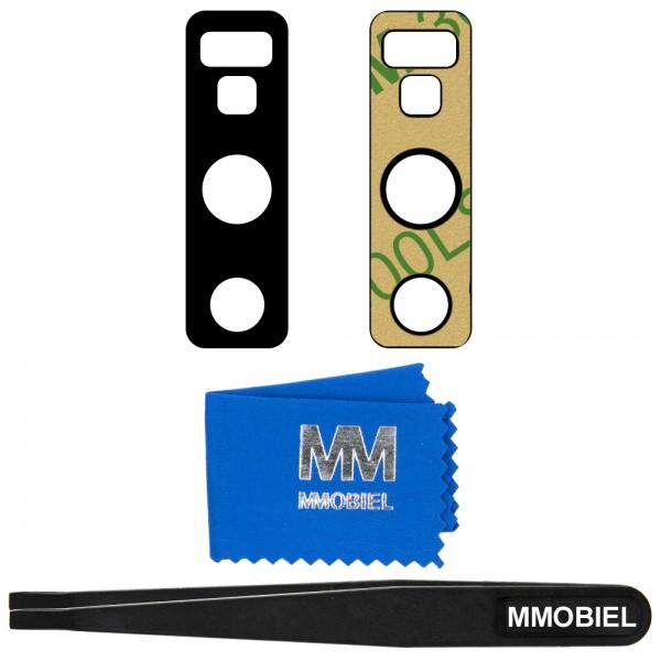 MMOBIEL Glas Lens Back Camera voor Samsung Galaxy Note 9 (ZWART) - inclusief Pincet en Doekje