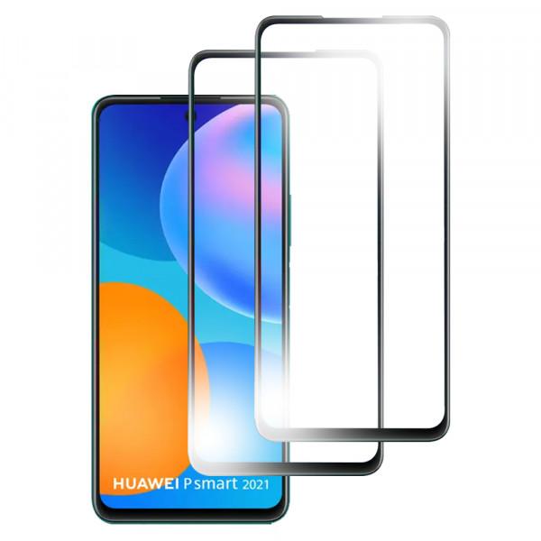 MMOBIEL 2 stuks Glazen Screenprotector voor Huawei P Smart 2021 6.67 inch - Tempered Gehard Glas - Inclusief Cleaning Set