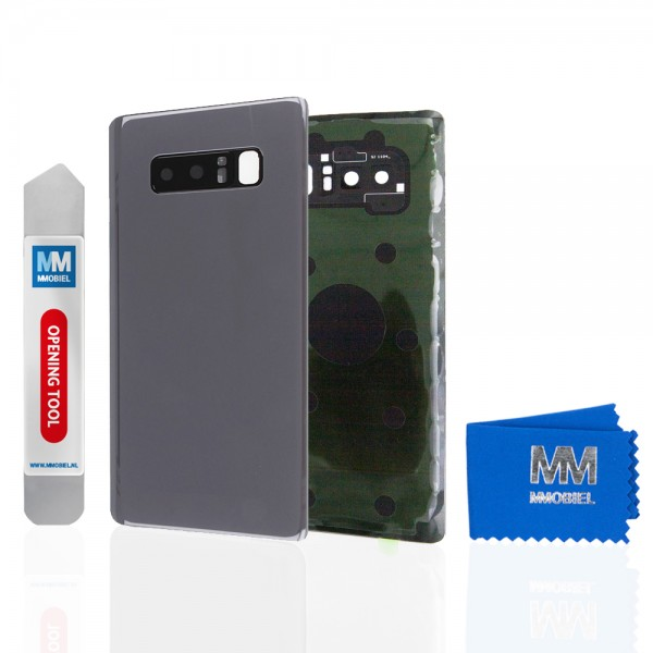 MMOBIEL Back Cover incl. Lens voor Samsung Galaxy Note 8 N950 (GRIJS)