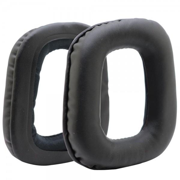 MMOBIEL Oorkussens Earpads geschikt voor: Logitech (ZWART) Koptelefoon