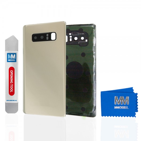 Akkudeckel mit Linse für Samsung Galaxy Note 8 N950 (GOLD) Backcover