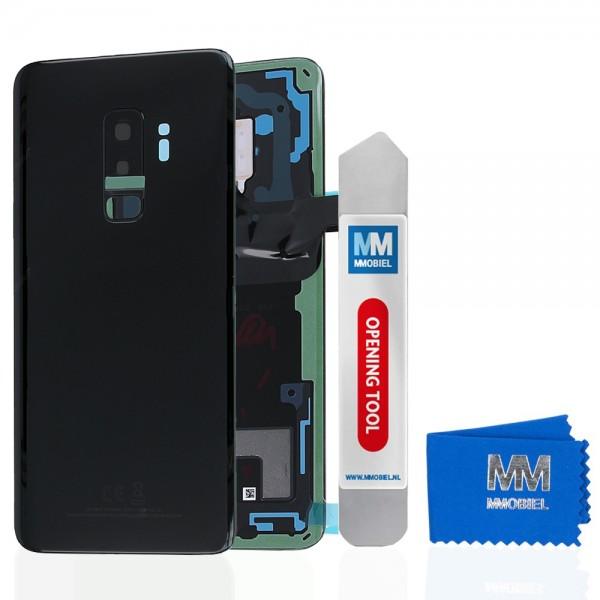 MMOBIEL Back Cover incl. Lens voor Samsung Galaxy S9 Plus G965 (ZWART)