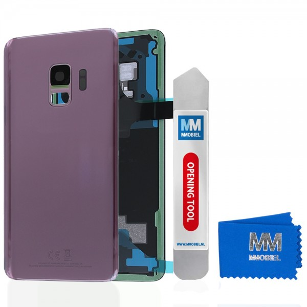 Back Cover Battery Door with Camera Lens for Samsung Galaxy S9 (Lilac Purple)