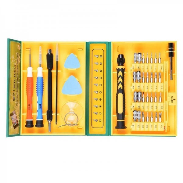 38 in 1 Multipurpose Magnetic Screwdriver Set for PC Laptop Tablet Smartphone
