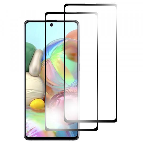 MMOBIEL 2 stuks Glazen Screenprotector voor Samsung Galaxy A71 A715 2020 6.7 inch - Tempered Gehard Glas - Inclusief Cleaning Set