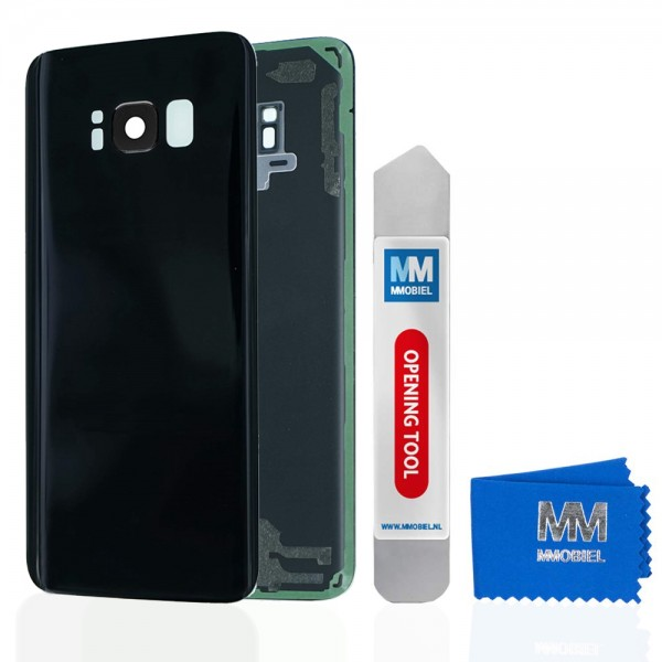 MMOBIEL Back Cover incl. Lens voor Samsung Galaxy S8 G950 (ZWART)