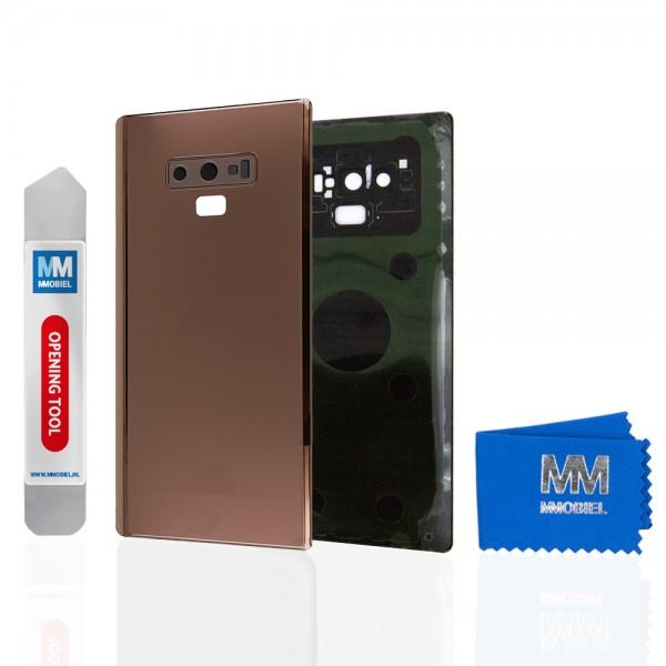 Akkudeckel mit Linse für Samsung Galaxy Note 9 N960 (COPPER) Backcover