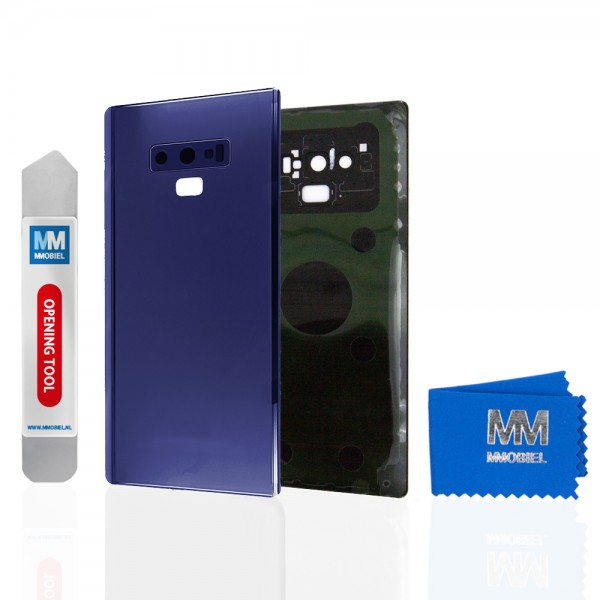 Akkudeckel mit Linse für Samsung Galaxy Note 9 N960 (BLAU) Backcover