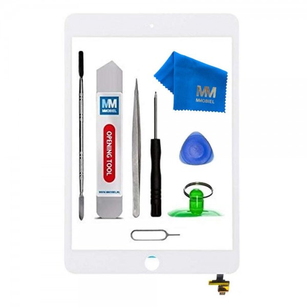 MMOBIEL Digitizer Scherm Display Glas Touchscreen voor iPad Mini 3 (WIT) - inclusief Tools