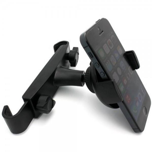 MMOBIEL Stevige Auto Hoofdsteun Houder - voor Telefoon / Smartphone - iPhone / Samsung / LG / HTC / Nokia / Huawei / Sony / Nexus / Universeel