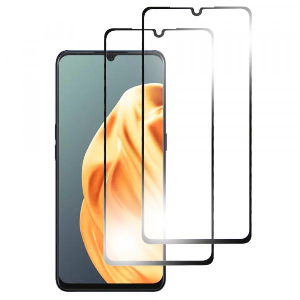 MMOBIEL 2-Pack Displayschutzfolie aus gehärtetem Glas für Oppo A91 6.4 inch 2019 - Panzerglas – Temperglas - Inklusive Reinigungsset