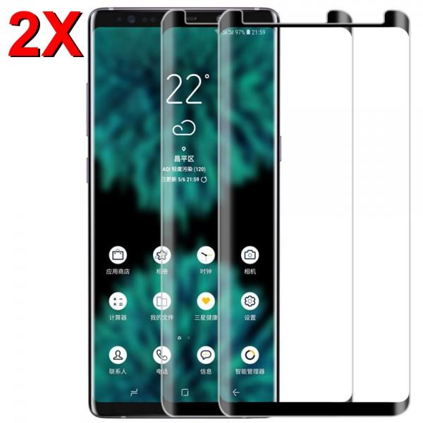 MMOBIEL 2 stuks Glazen Screenprotector voor Samsung Galaxy Note 9 - 6.4 inch 2018 - Tempered Gehard Glas - Inclusief Cleaning Set