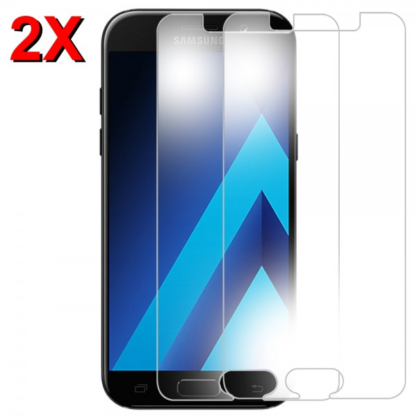 MMOBIEL 2 stuks Glazen Screenprotector voor Samsung Galaxy A5 A520 2017 - 5.2 inch - Tempered Gehard Glas - Inclusief Cleaning Set
