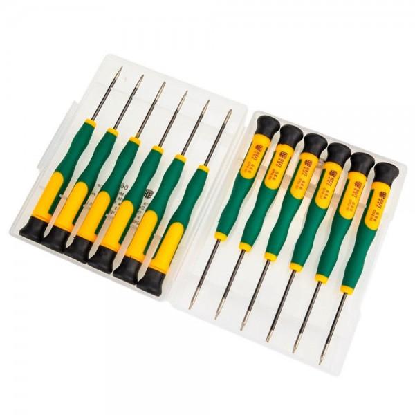 12 Stück Magnetische Schraubenzieher Set für Smartphones iPhone iPad Tablet