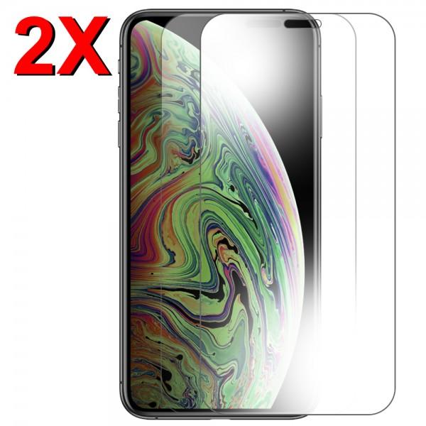 MMOBIEL 2 stuks Glazen Screenprotector voor iPhone XS Max / 11 Pro Max - 6.5 inch - Tempered Gehard Glas - Inclusief Cleaning Set