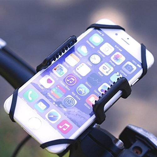 MMOBIEL Telefoonhouder voor Fiets/ Scooter/ Motor – Verstelbaar –Geschikt Voor Alle Smartphones