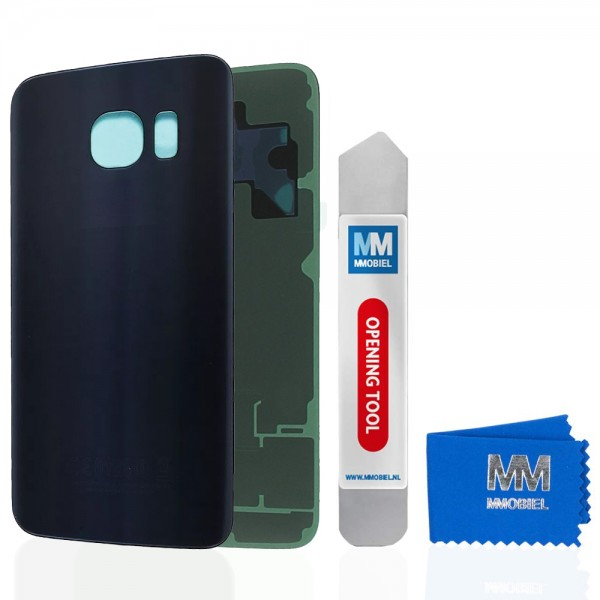 Akkudeckel für Samsung Galaxy S6 Edge G925 (SCHWARZ) Backcover