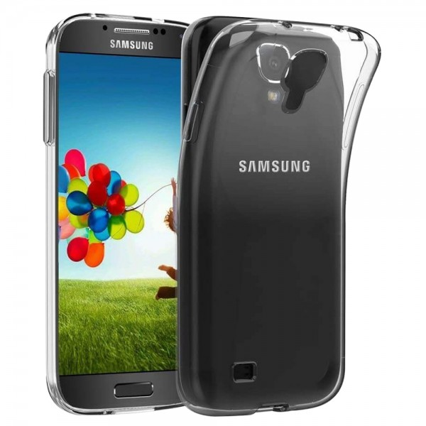 MMOBIEL Siliconen TPU Beschermhoes Voor Samsung Galaxy S4 - 5.0 inch 2013 Transparant - Ultradun Back Cover Case