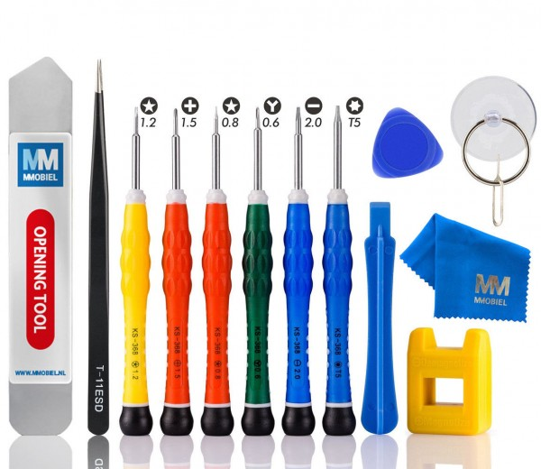 14 in 1 Anti Static Screwdriver Toolkit for iPhone 11 - XS - X - 8 - 7 - 6S