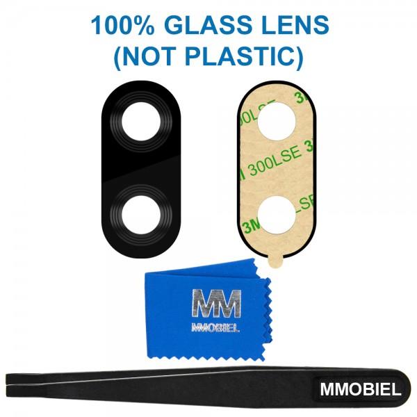 MMOBIEL Glas Lens Back Camera voor Huawei P Smart Plus 2018 (ZWART) - inclusief Pincet en Doekje