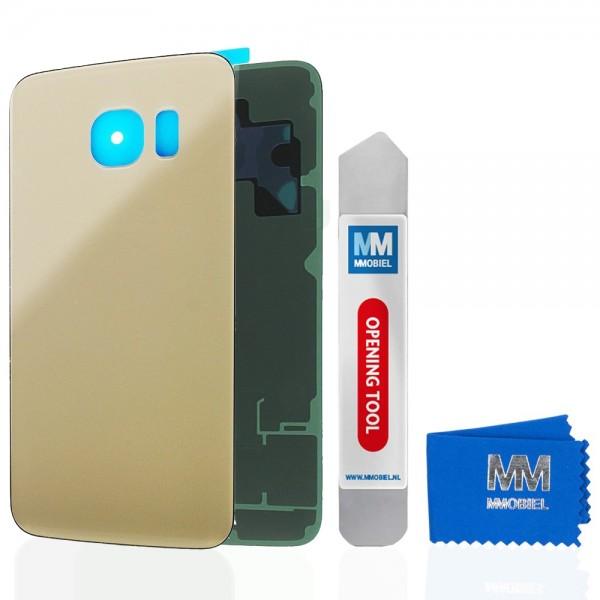 Akkudeckel für Samsung Galaxy S6 Edge G925 (GOLD) Backcover Rückseite