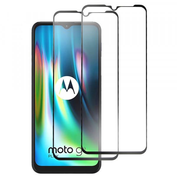 MMOBIEL 2-Pack Displayschutzfolie aus gehärtetem Glas für Motorola G9 / G9 Play 6.5 inch 2020 - Panzerglas – Temperglas - Inklusive Reinigungsset