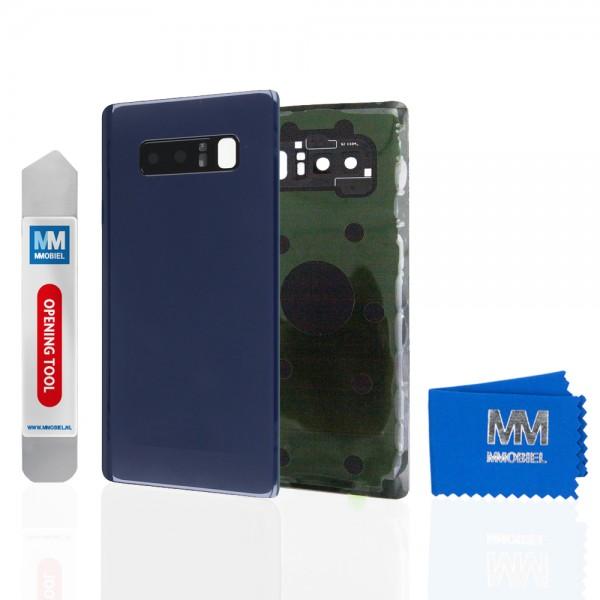 Akkudeckel mit Linse für Samsung Galaxy Note 8 N950 (BLAU) Backcover