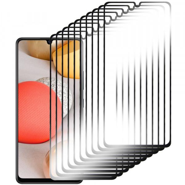 MMOBIEL 10 stuks Glazen Screenprotector voor Samsung Galaxy A42 A426 2020 - 6.6 inch - Tempered Gehard Glas - Inclusief Cleaning Set