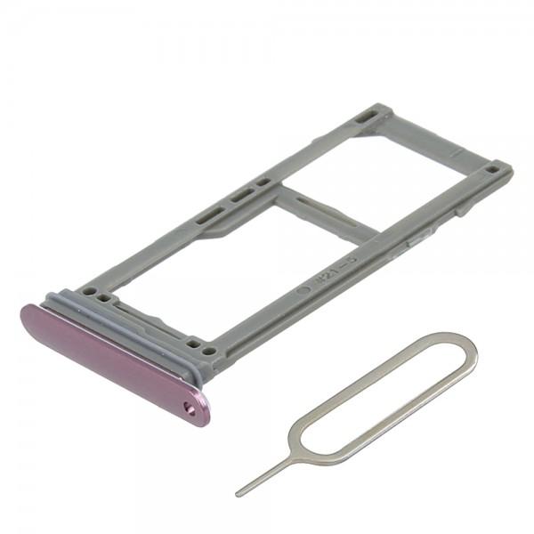 MMOBIEL Sim Tray Kaart Houder Nano Slot voor Samsung galaxy S9 / S9 Plus (PAARS)