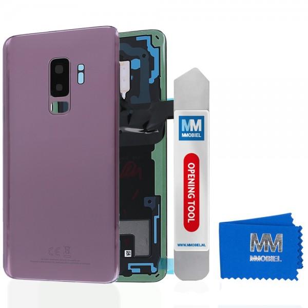 Akkudeckel mit Linse für Samsung Galaxy S9 Plus G965 (LILA PURPLE) Backcover