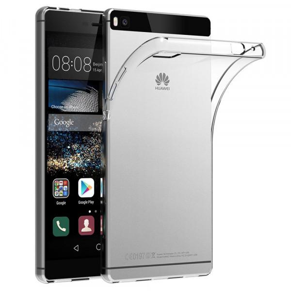 MMOBIEL Siliconen TPU Beschermhoes Voor Huawei P8 - 5.2 inch 2015 Transparant - Ultradun Back Cover Case