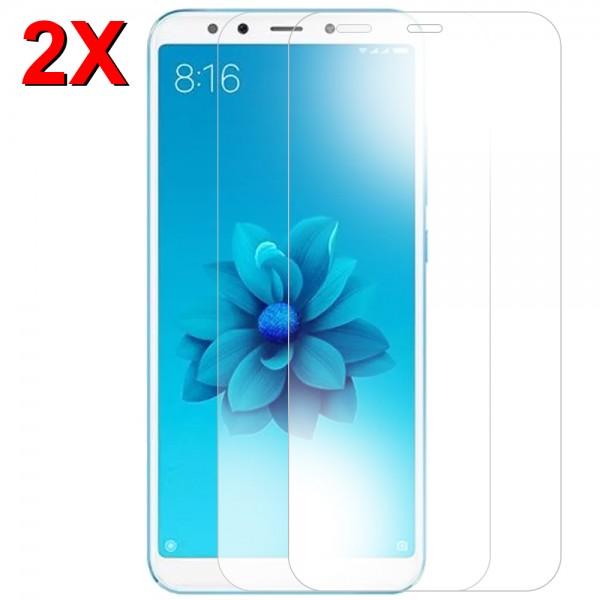 MMOBIEL 2 stuks Glazen Screenprotector voor Xiaomi Mi A2 - 5.99 inch 2018 - Tempered Gehard Glas - Inclusief Cleaning Set